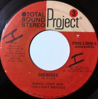 Cherokee/Enoch Light And The Light Brigade(Project 3-US).JPG